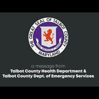 Talbot County MD Coronavirus Update 3/26/20